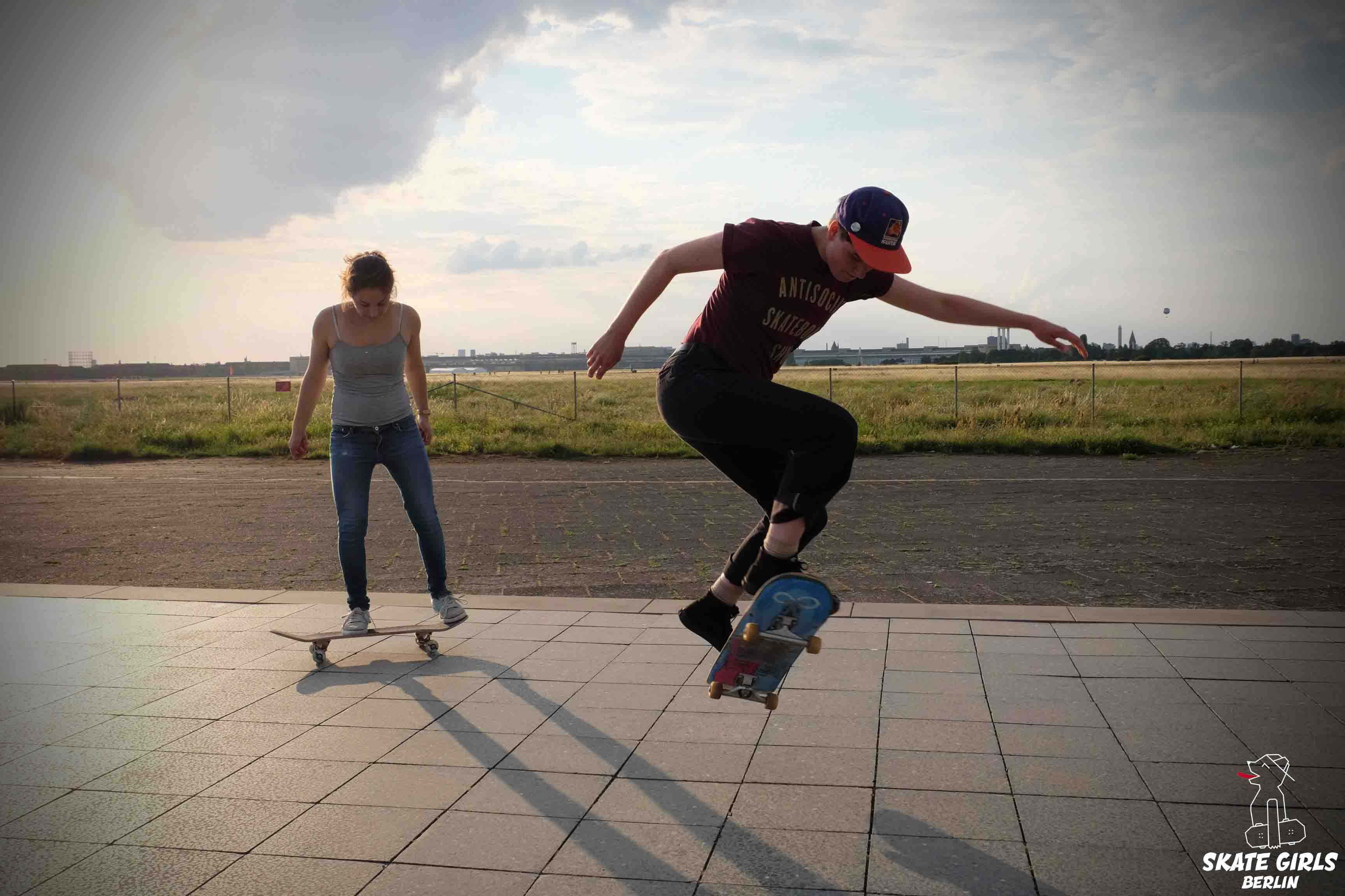 Skate Girls Berlin Beginner Session Copyright Iris König