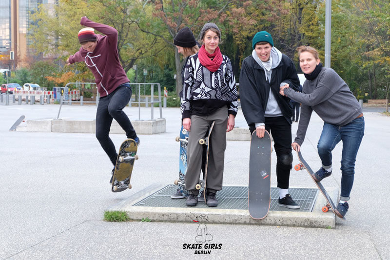 Skate Girls Berlin Beginner Iris König